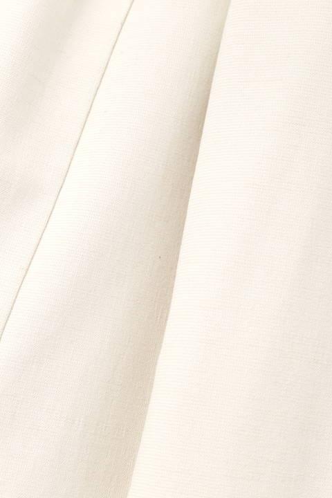 【雑誌 with 7月号掲載】[ウォッシャブル]麻混ダブルジャケット