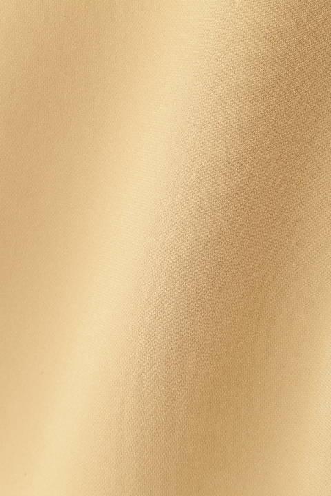 [ウォッシャブル]ダブルクロスサイドプリーツブラウス