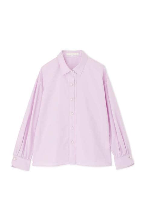 [ウォッシャブル]ボリュームスリーブシャツ