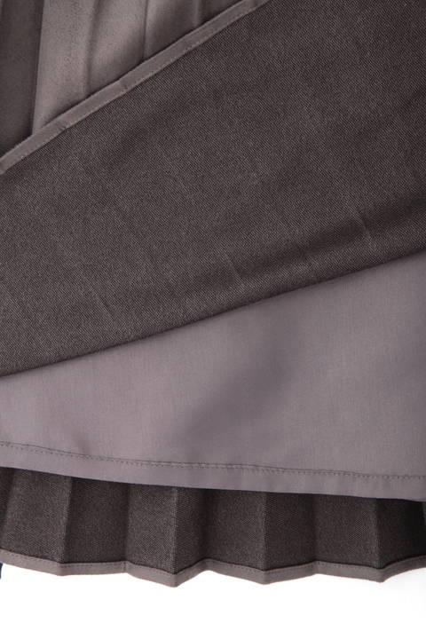 【雑誌 Oggi 11月号掲載】スエードプリーツスカート