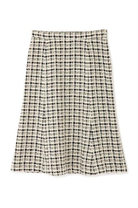 ツィードマーメイドスカート