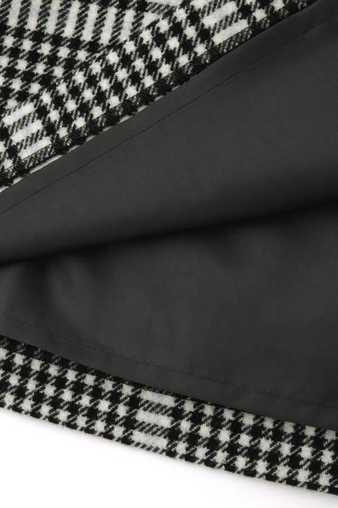 【先行予約 11月上旬-中旬入荷予定】千鳥チェックストレートスカート
