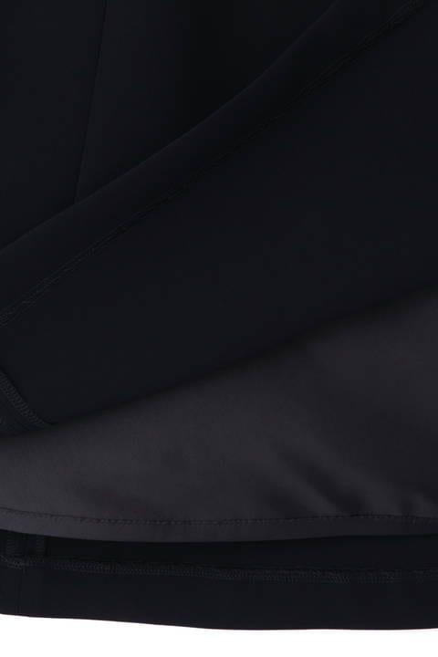 [ウォッシャブル]ダブルクロスフレアスカート