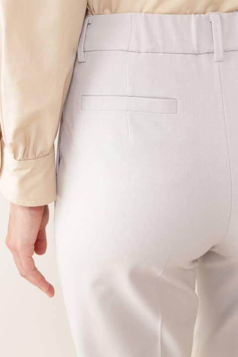 【先行予約 9月上旬-中旬入荷予定】[ウォッシャブル]モナルーチェ先染パンツ