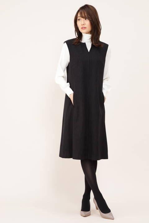 【STORYweb掲載商品】起毛2WAYジャンパースカート