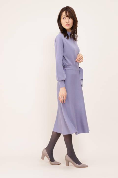 【STORYweb掲載商品】ニットワンピース