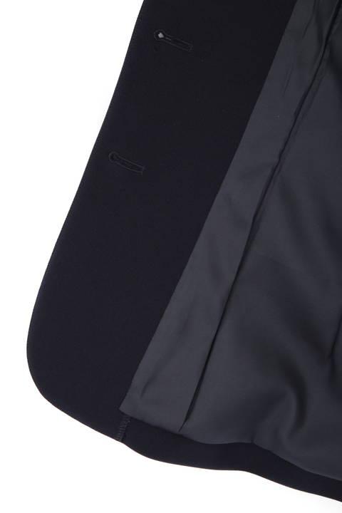 [ウォッシャブル]ストレッチダブルツイルテーラードバージャケット