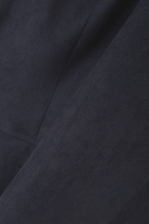 [Jクオリティ]エルモザスエードノーカラージャケット