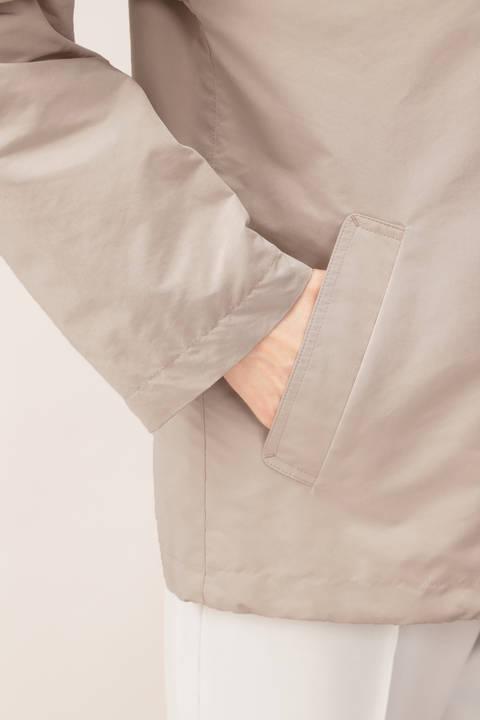 【STORYweb掲載商品】中綿キルト付フードジャケット
