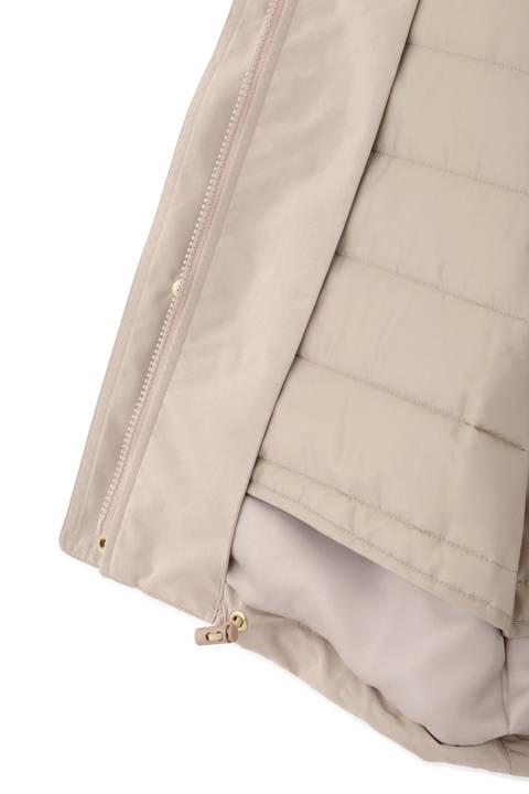 【先行予約 11月上旬-中旬入荷予定】中綿キルト付フードジャケット