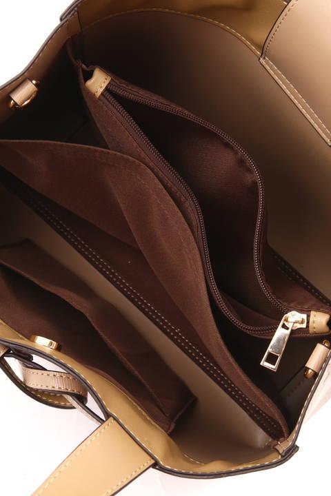 【STORYweb掲載商品】【雑誌 Oggi 11月号掲載】飾りベルト2WAYバッグ