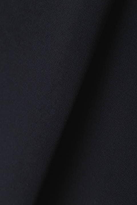 【雑誌 CLASSY 4月号掲載】[ウォッシャブル]ダブルクロスセットアップブラウス