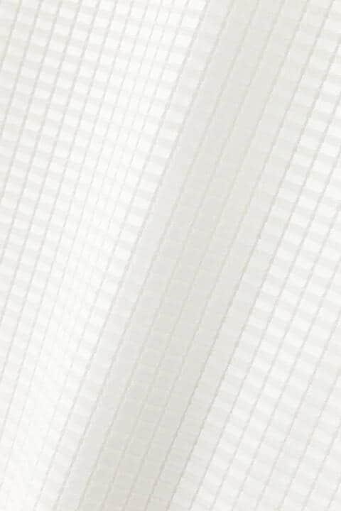 [ウォッシャブル]異素材コンビブラウス