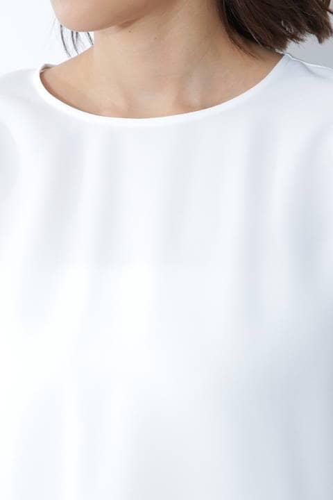 [ウォッシャブル]チュニックブラウス