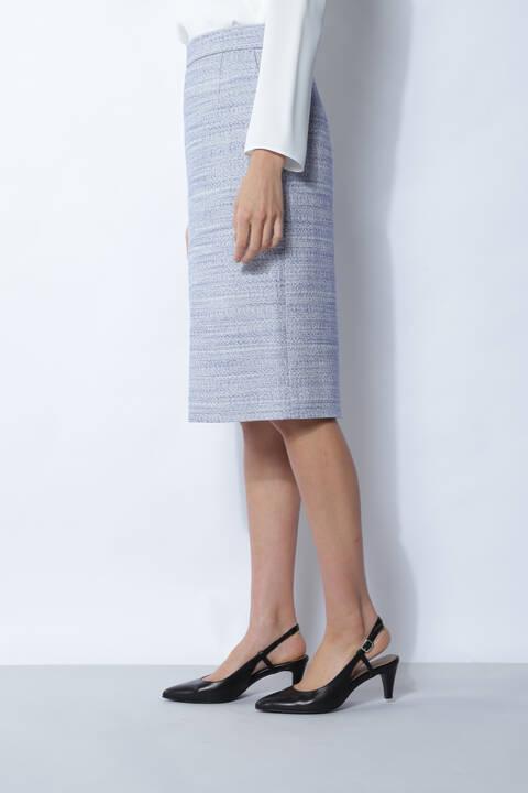 【アナウンサー 水卜麻美さん着用】ツィードセットアップスカート