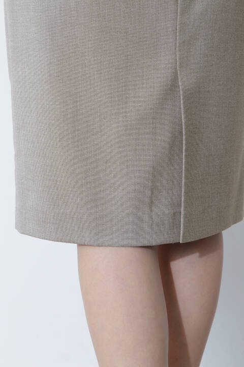 [ウォッシャブル]シャークスキンセットアップスカート