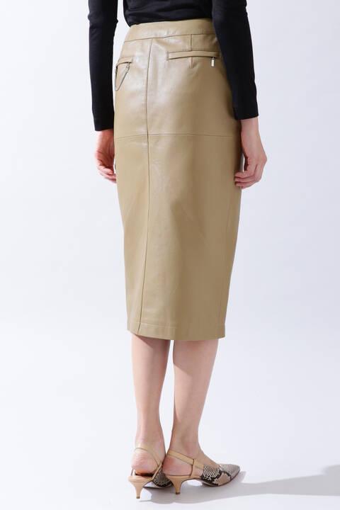 《B ability》レザータイトスカート