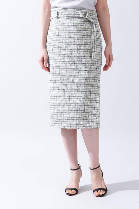 《B ability》ツイードセットアップスカート