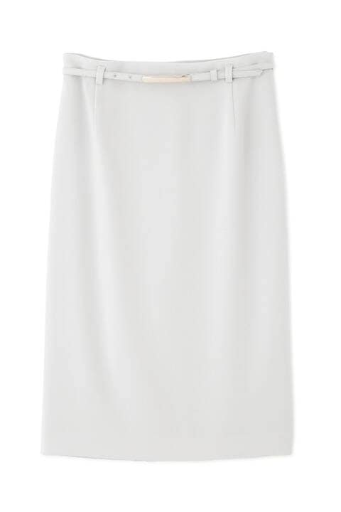 《B ability》バックサテンジョーゼットセットアップスカート