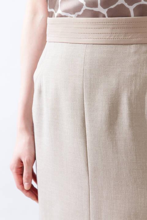 【ドラマ 鈴木京香さん着用】《B ability》トリアセスラブセットアップスカート