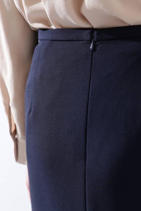 [ウォッシャブル]《B ability》2WAYオックスセットアップスカート