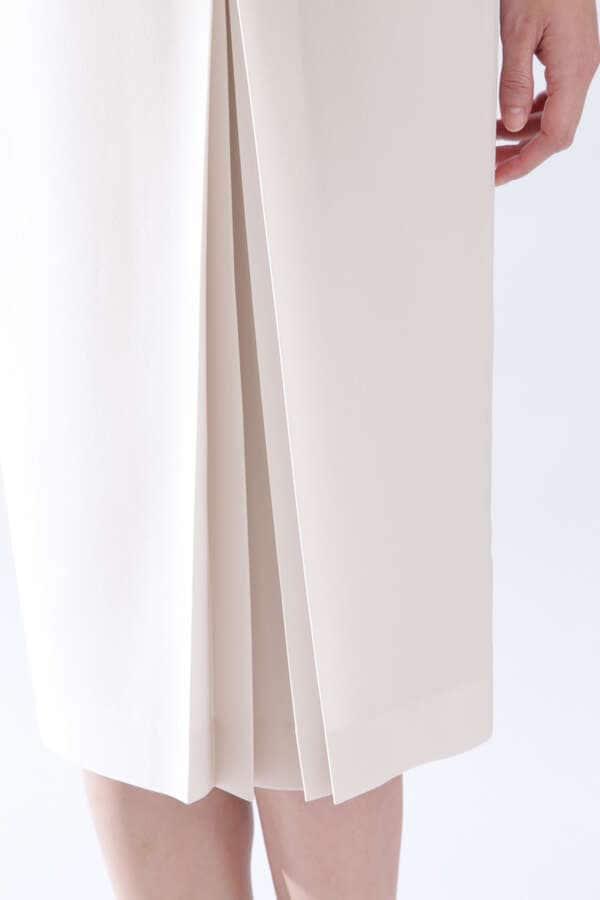 [ウォッシャブル]《B ability》トリアセツイルセットアップスカート