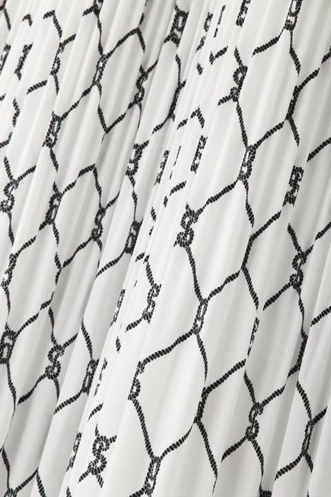 [ウォッシャブル]ローププリントスカート