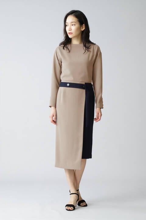 《B ability》平二重セットアップスカート