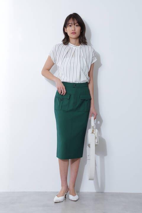 【アナウンサー 加藤綾子さん着用】カーゴポケットスカート