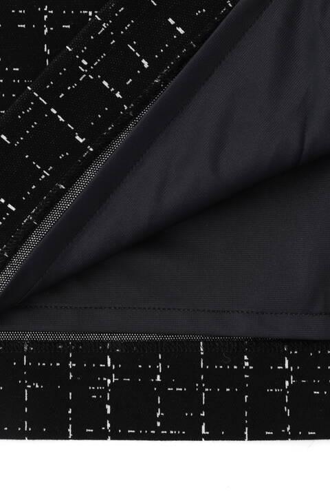 [ウォッシャブル]ジャガードジャージセットアップスカート