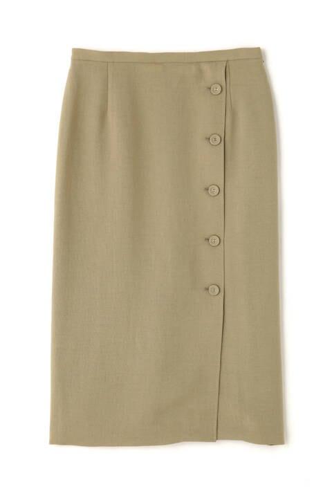 《B ability》トリアセ平織セットアップスカート