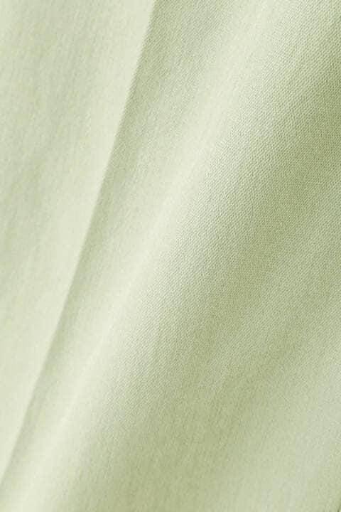 [ウォッシャブル]麻混ツイルテーパードパンツ