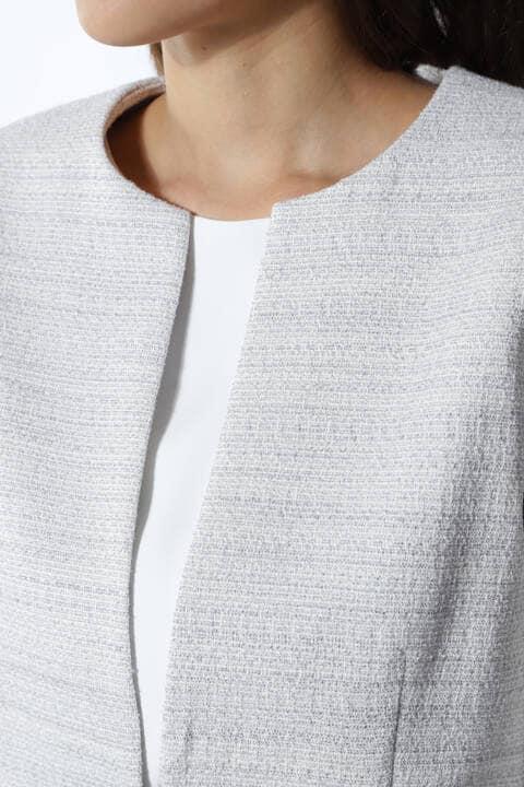 ツィードセットアップジャケット