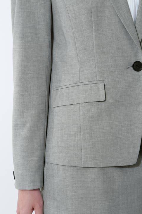 T/Wハンドウォッシャブルセットアップジャケット