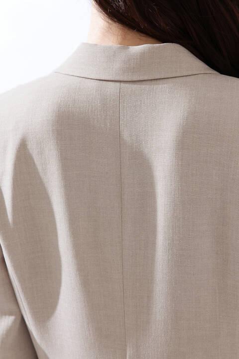 【雑誌 Oggi 4月号掲載】《B ability》トリアセスラブセットアップジャケット