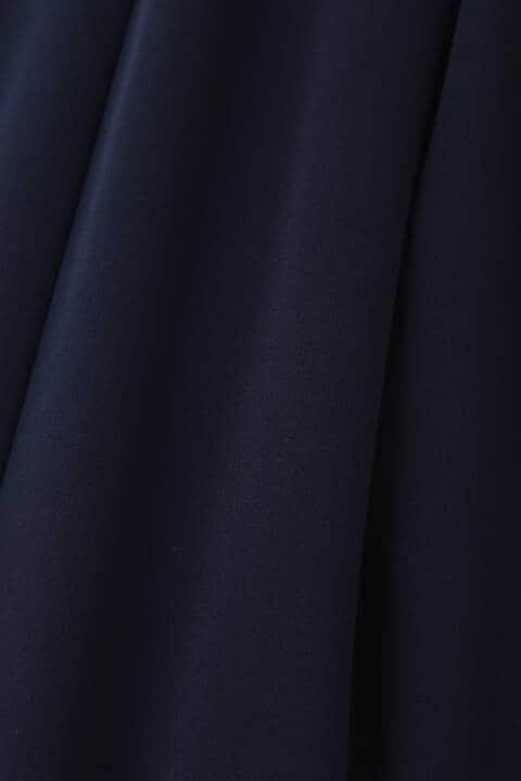 [ウォッシャブル]マットサテンセットアップジャケット