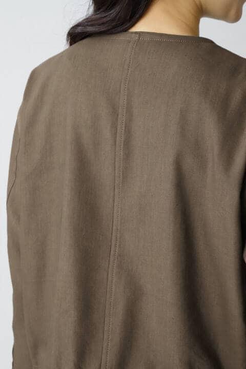 《B ability》ノーカラージップジャケット