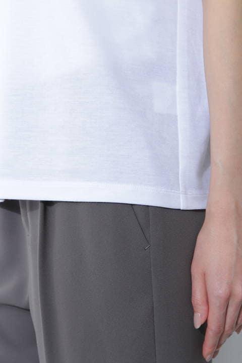 [ウォッシャブル]スムースTシャツ