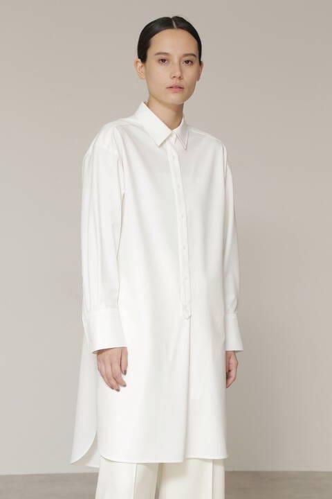 オーバーロングシャツ
