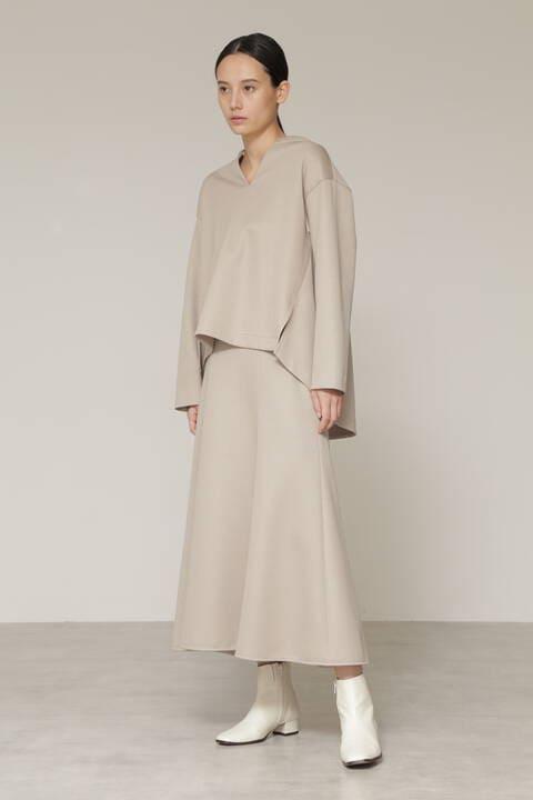 【先行予約 10月上旬-中旬入荷予定】Wジャージセットアップスカート
