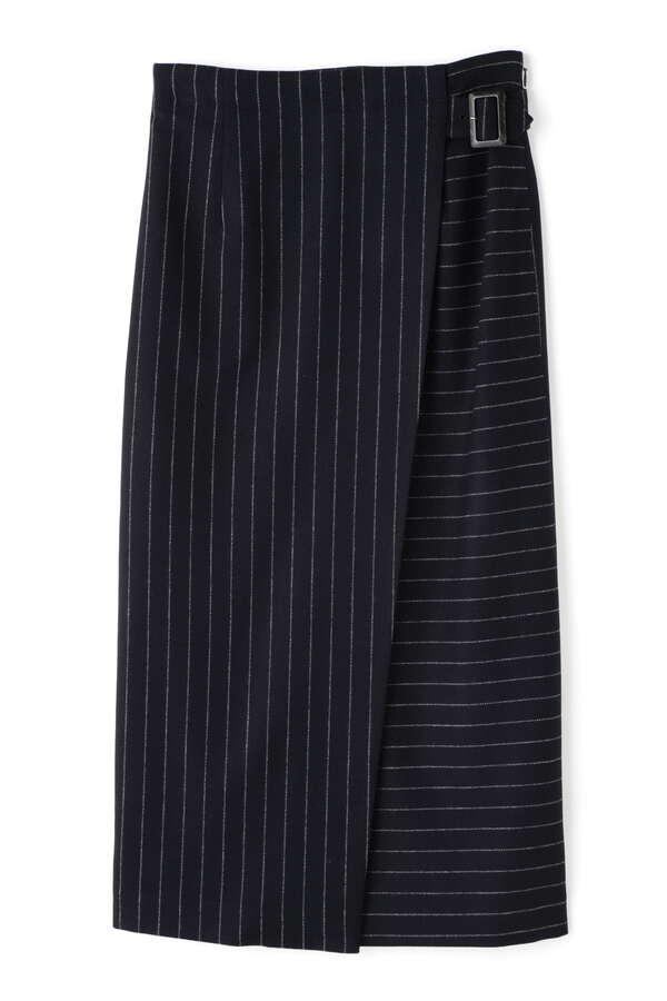 ZONEストライプスカート