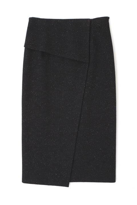 ウールJQジャージーセットアップスカート