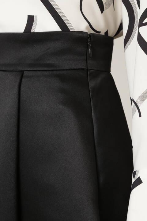 サテンフィッシュテールスカート