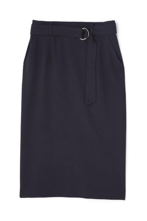 麻調ジャージーセットアップスカート