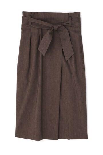 麻ストレッチセットアップスカート
