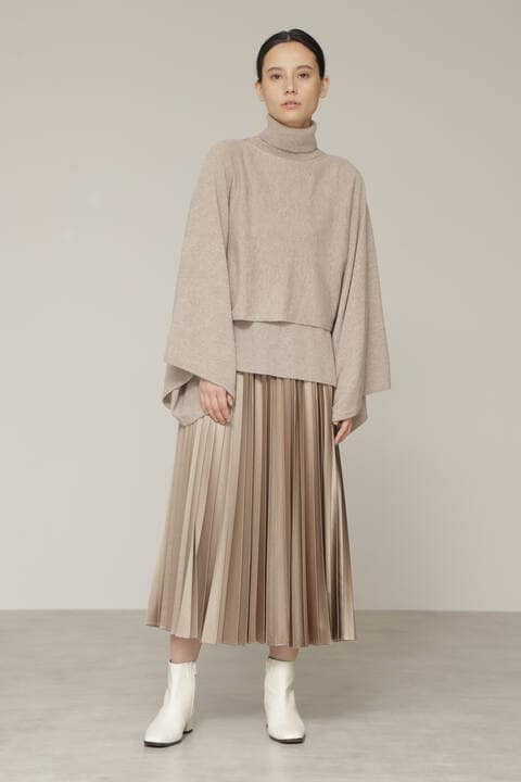 【先行予約 9月中旬-下旬入荷予定】ランダムプリーツスカート