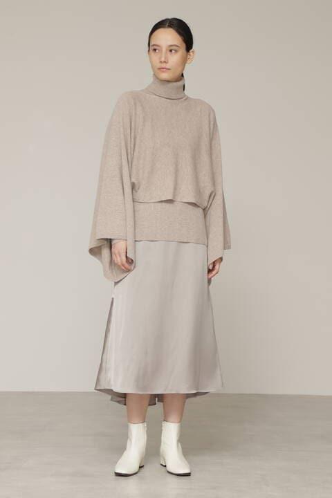 【先行予約 9月上旬-中旬入荷予定】サテンマーメイドスカート