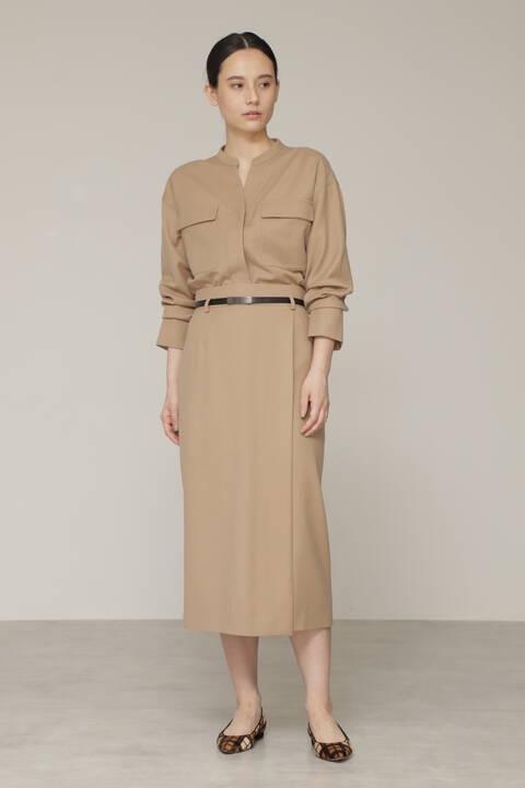 ウールサキソニーセットアップスカート