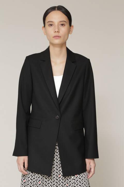 ベルト付テーラードジャケット