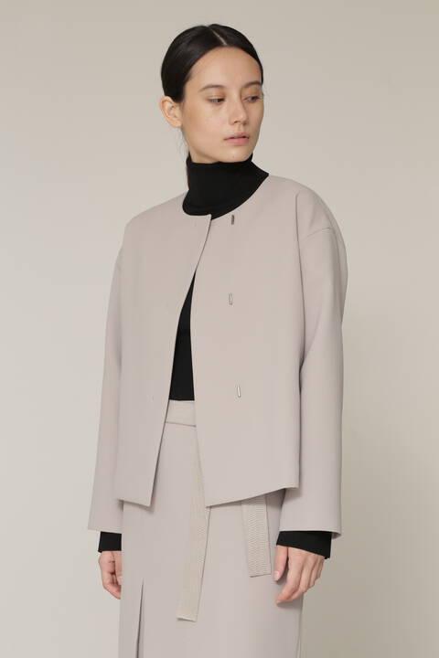 ダブルクロスセットアップジャケット